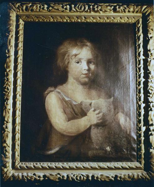 Tableau, cadre : Jean-Baptiste enfant