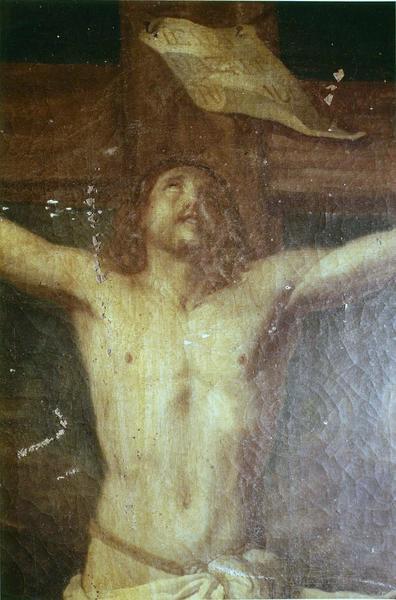tableau : La Madeleine au pied de la croix
