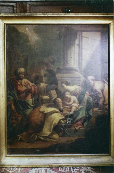 Tableau, cadre : L'Adoration des Mages
