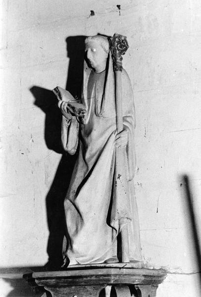 statue : saint abbé