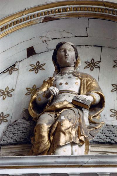 statue : Notre-Dame de Lorette