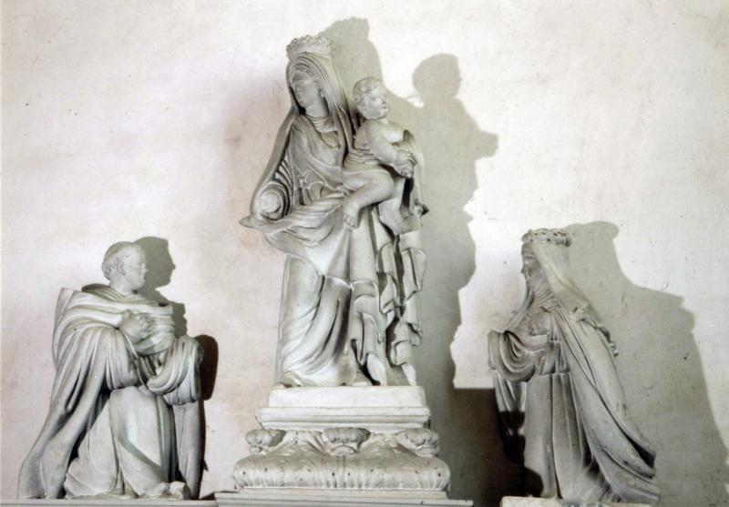 Groupe sculpté : Le Rosaire