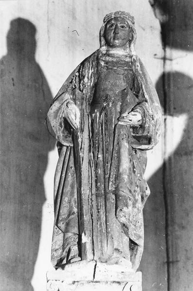 statue : sainte Hélène