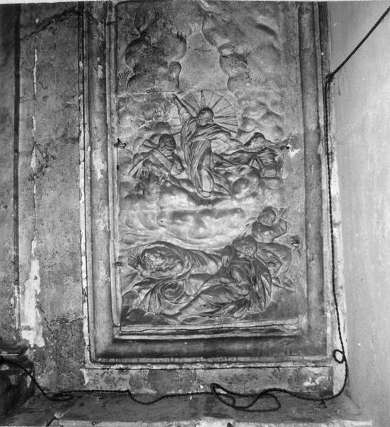 retable, 3 statues : Saint Vincent, Saint Fiacre, saint Savinien
