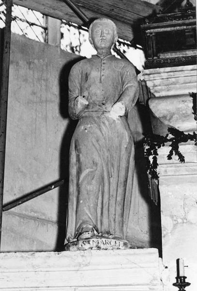 statue : saint Marcel