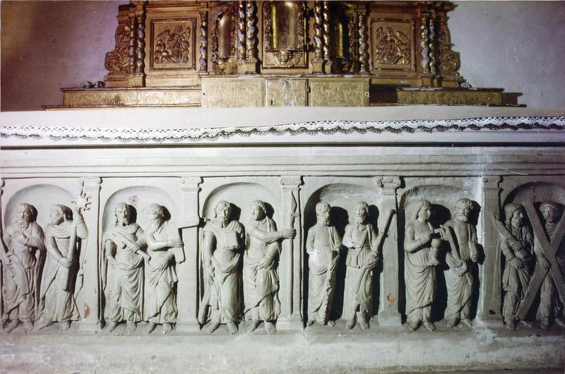 devant d'autel : Le Collège apostolique