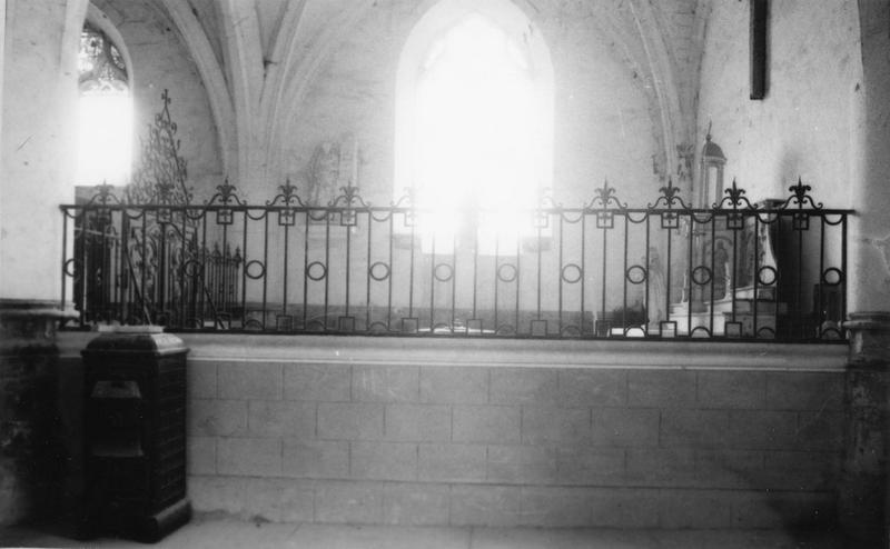 clôtures de chapelle
