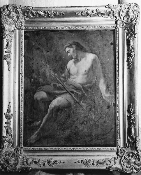 tableau, cadre : Saint Jean-Baptiste