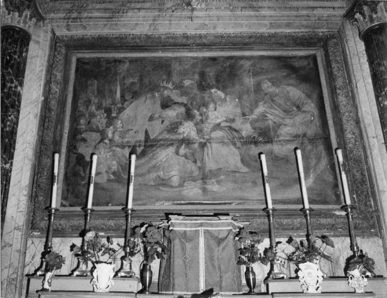 retable, tableau : L'Adoration des Mages