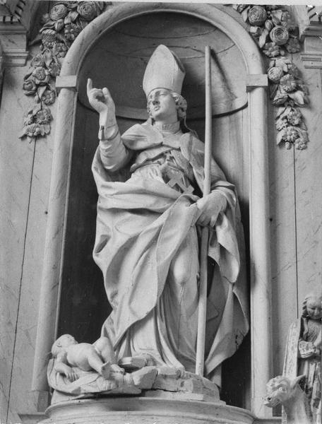 statuette : Saint Edme