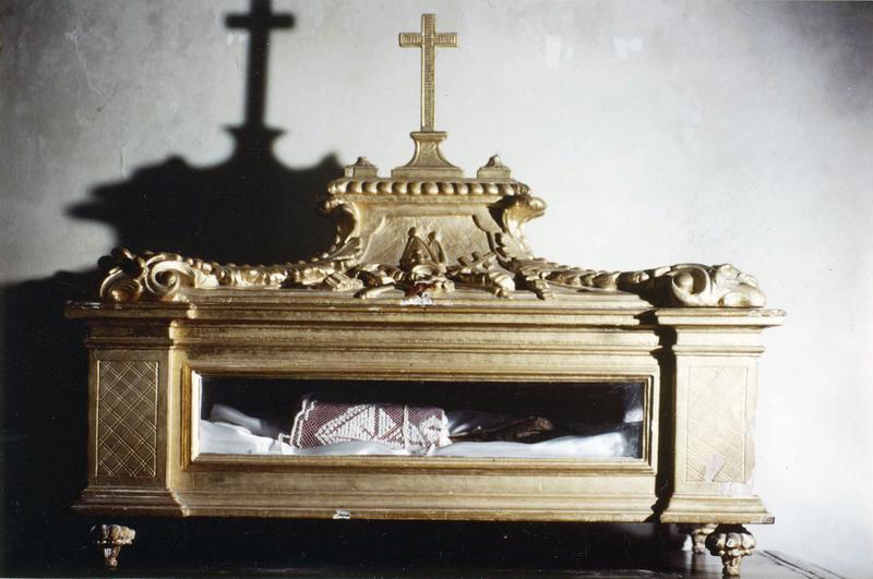 reliquaire du bras de saint Edme