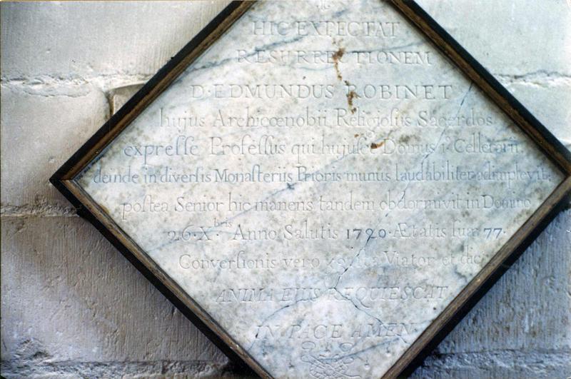 plaque commémorative à la mémoire de Gabriel-Jacob Grillot