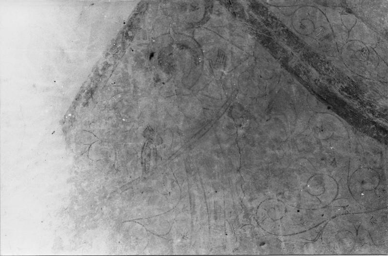 peintures monumentales : La Résurrection du Christ, Anges agenouillés, Anges musiciens, Le Couronnement de la Vierge, Ange, Christ bénissant
