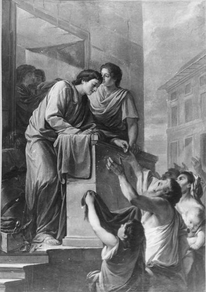 tableau : Saint Crépin et saint Crépinien
