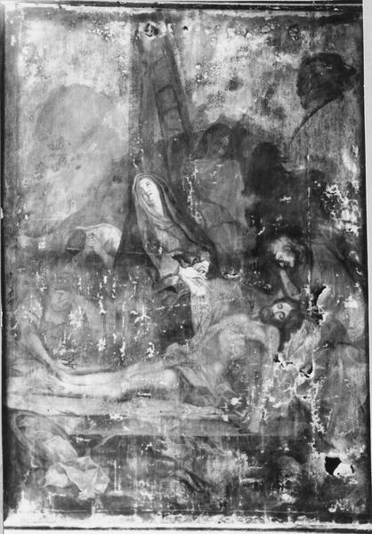 tableau : Lamentation du Christ mort