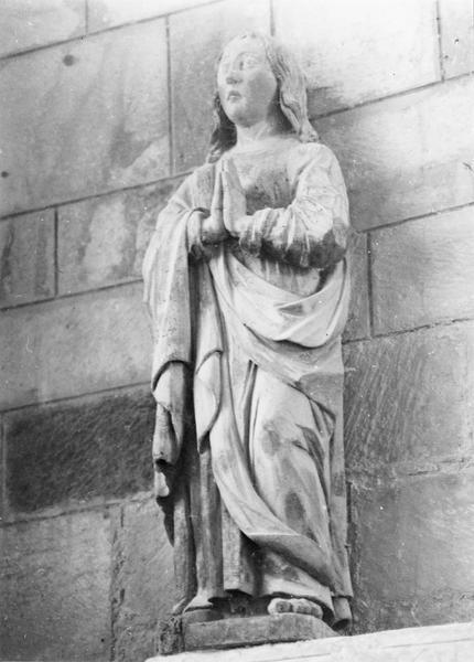 calvaire : Le Christ, Vierge et saint Jean au calvaire