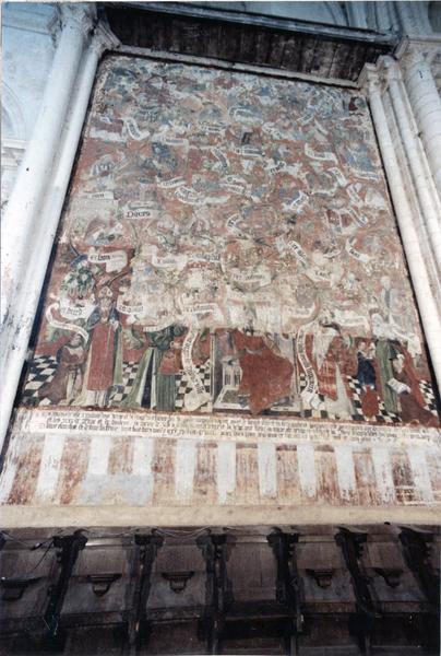 peinture monumentale : L' Arbre de Jessé