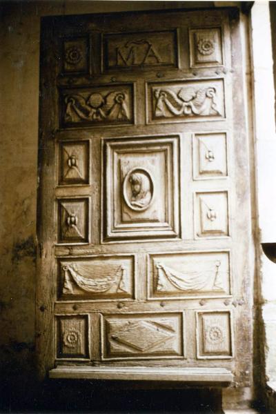 vantaux de la porte ouest
