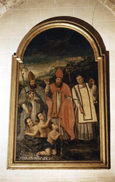 Tableau : Saints Eloi, Nicolas et Vincent