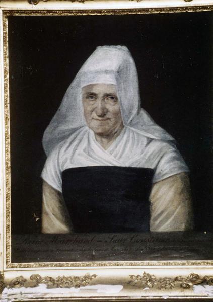 tableau, cadre : Portrait de Reine Marchand, dite soeur Constance de la Présentation de la sainte Vierge