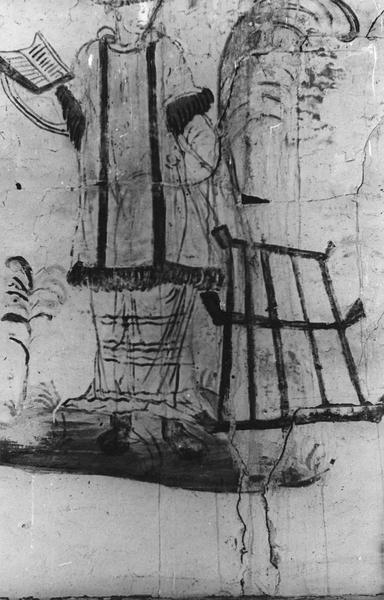 peintures monumentales de la voûte