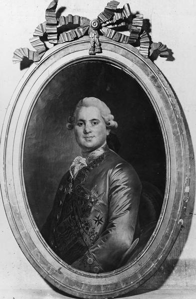 tableau : Portrait du comte de Provence