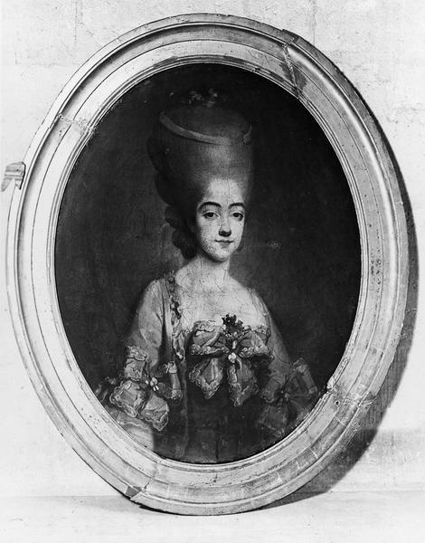 tableau : Portrait de la comtesse de Provence
