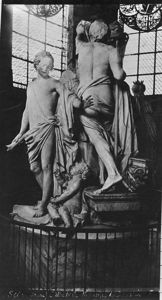tombeau de Louis, dauphin de France, fils de Louis XV, et de sa femme, Marie-Josèphe de Saxe