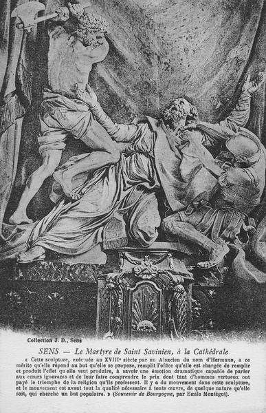 Statue : Saint Savinien
