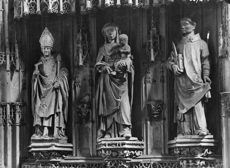 tombeau de Jean de Salazar et de Marguerite de la Tremoille, son épouse
