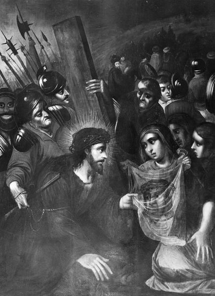 tableau : Le Christ et sainte Véronique