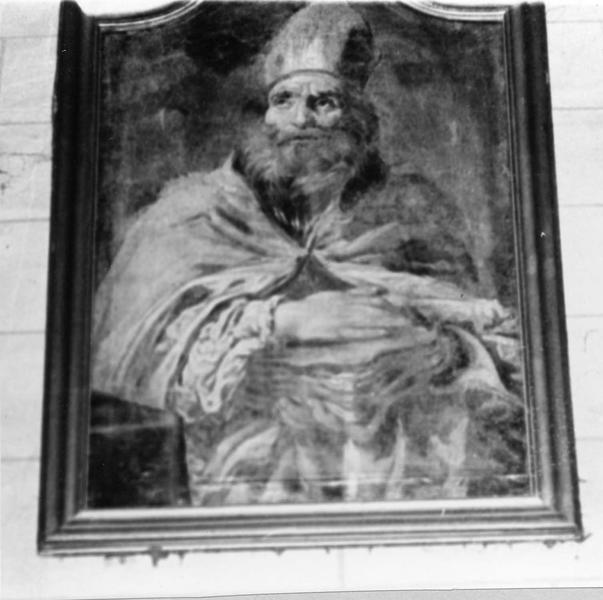 tableau : Saint Evêque