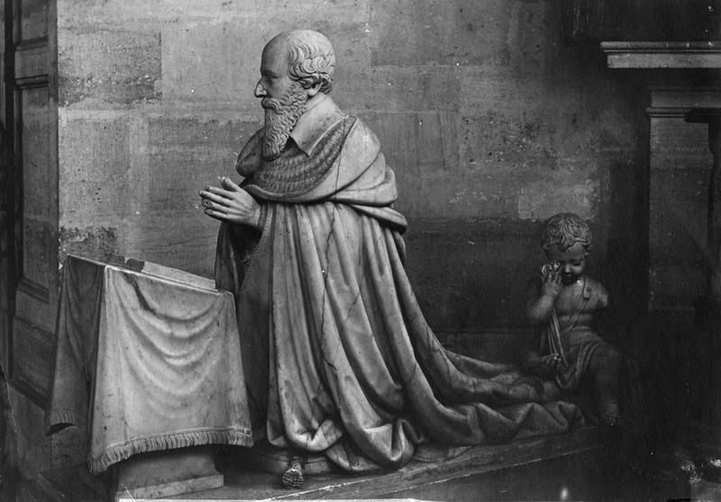 statue de Jacques Davy du Perron, cardinal archevêque de Sens