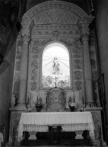 retable de la Vierge