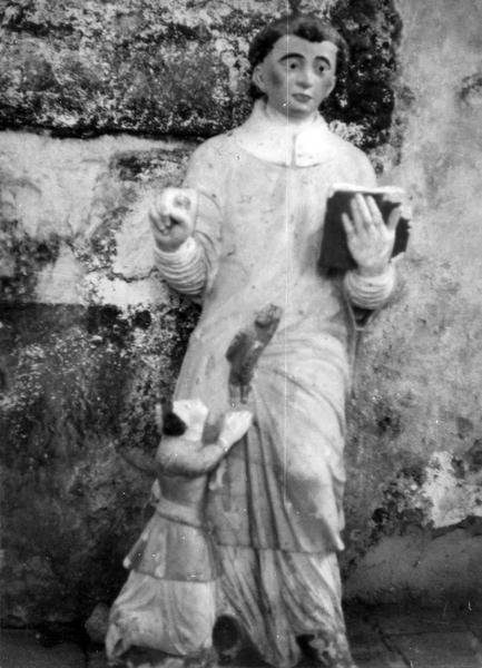 Statue : Saint Diacre exorcisant