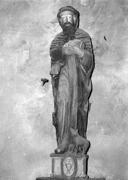 statue, socle : saint Antoine