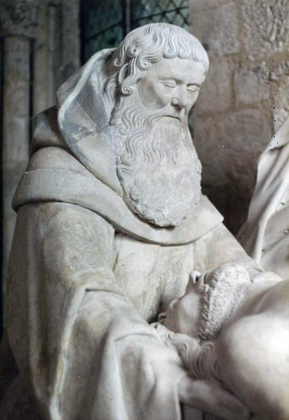 groupe sculpté (grandeur nature) : Saint sépulcre