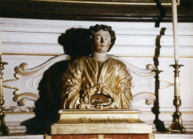Buste-reliquaire de saint Symphorien