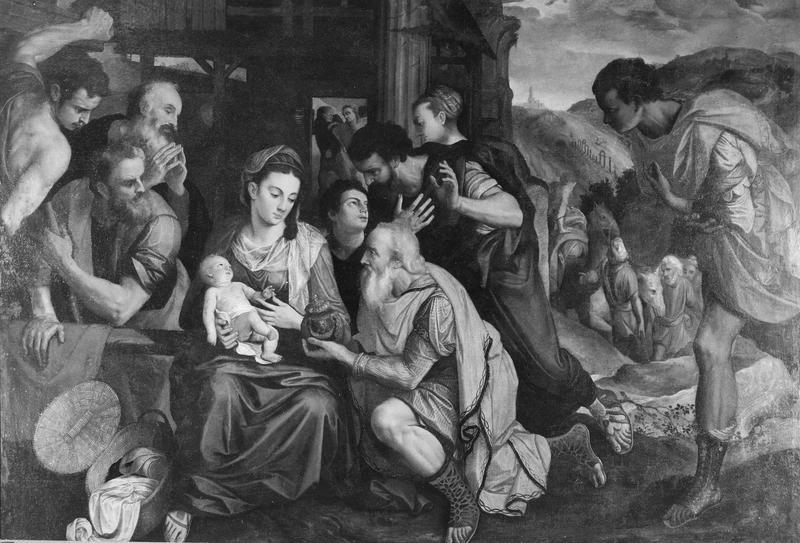 tableau : L' Adoration des Mages