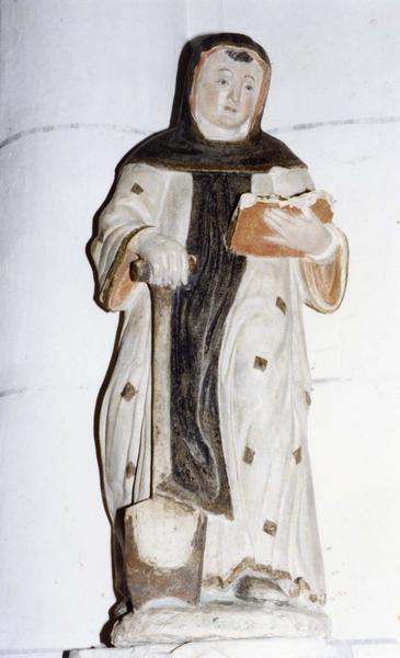 statuette : saint Fiacre