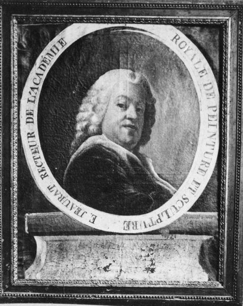 Tableau : Portrait d'Etienne Jeaurat, recteur de l'Académie royale de peinture
