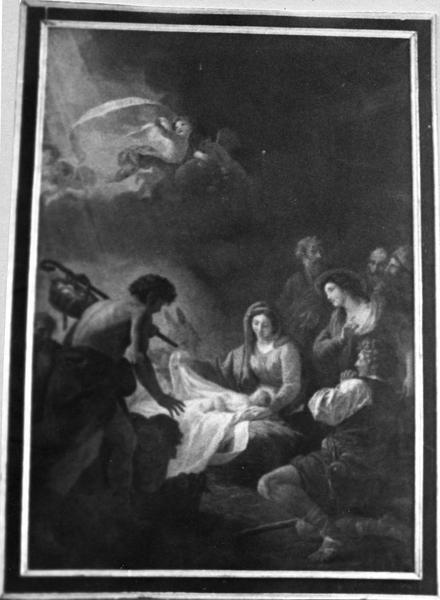 tableau : L'Adoration des bergers