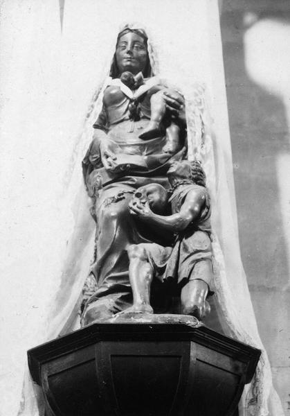 statue : Vierge à l'Enfant dite Notre-Dame de la Merci