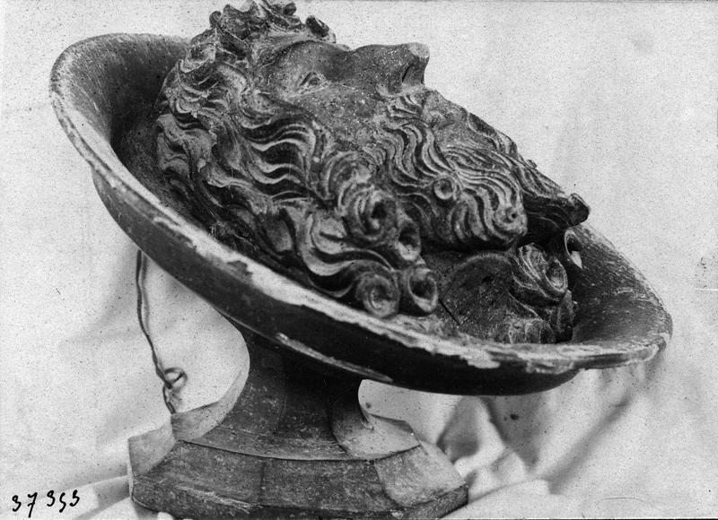 sculpture : Chef de saint Jean-Baptiste