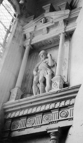 2 statues : Saint Jean-Baptiste, Saint Roch
