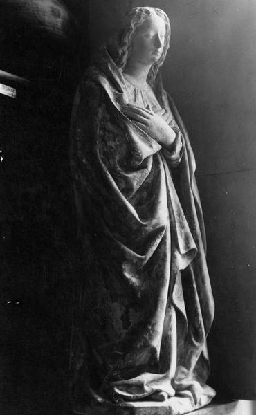 statuette : Vierge de l'Annonciation