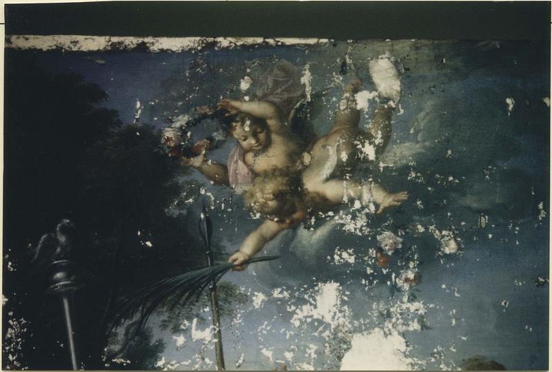 tableau : Le Martyre de saint Cydroine