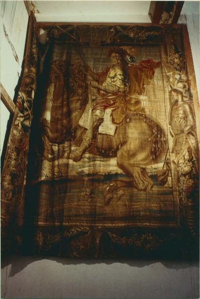 Ensemble de 9 pièces murales : La leçon d'équitation de Louis XIII