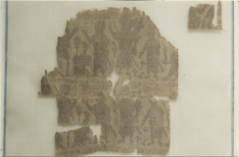 Tissu (fragment): histoire de Joseph, détail