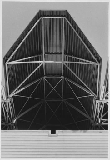 Charpente métallique et structure
